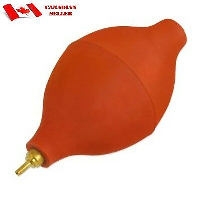 Rubber Blower Crystal Cleaning Tool Jewelers watchmaker with Brass Tip ST691