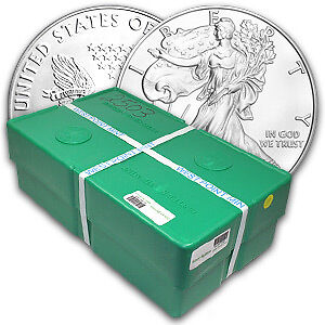 2012 500-Coin Silver Eagle Monster Box (WP Mint, Sealed) - SKU #67452
