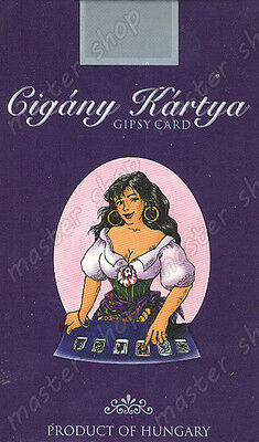 Metaphysical Gypsy Divination Cards On 6 Languages #001