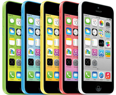 Apple iPhone 5C 4S GSM UNLOCKED AT&T T-MOBILE cell phone EXPEDITED SHIPPING