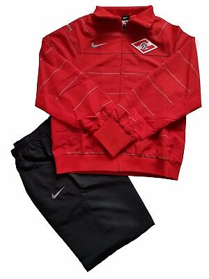 NEW NIKE SPARTAK MOSCOW PLAYER ISSUE - HOOPED TRACKSUIT - 336572 611 - Small