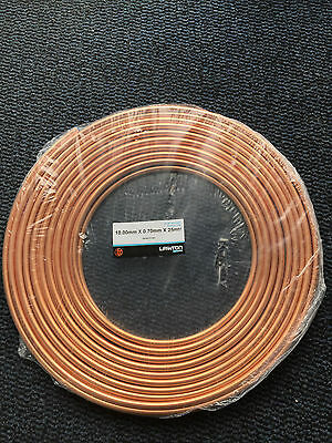 10mm x 25mtr Micro bore copper pipe, Free P&P Same Day Dispatch