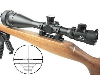 Riflescope ZOS 6-24x56AOE R&G R14 Hunting Tactical Military Rifle Scope 30mm