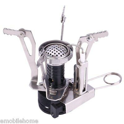 Outdoor Picnic Gas Burner Foldable Portable Backpacking Camping Hiking Stove