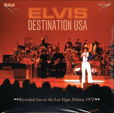 Elvis Presley - DESTINATION USA - FTD 126 New / Sealed CD - DELETED