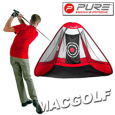 "Pure2improve Golf Trainingshilfe ""Practice Net Triangle"" Kostenlose Blitzversand"