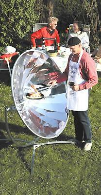 Premium Solar Cooker - Made in Germany! High Quality! Sun Oven Camping Barbeque
