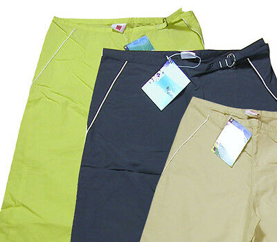 Roxy By Quiksilver Ladies Girls Summer 3/4  Capri Cropped Trousers Shorts Pants