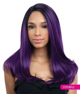 Justice - Freetress Equal Deep Invisible 'l' Part Synthetic Lace Front Wig
