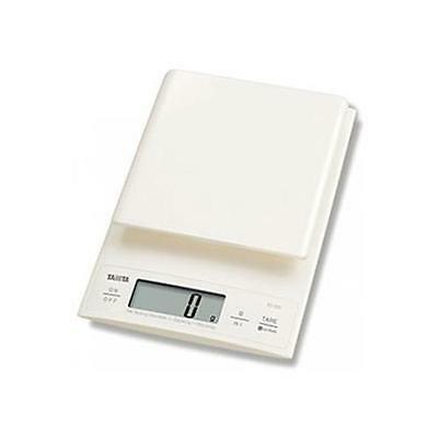 Tanita KD320 Battery Powered Digital Kitchen Scales 3kg Weight-Fluid Conversion