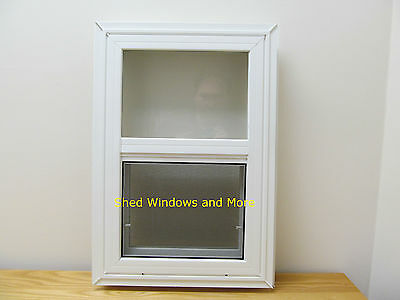"""Double Pane Insulated 18"""" x 27"""" Window Vinyl Moble Homes Tiny Houses Playhouses"""