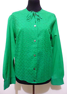 CULT VINTAGE '80 Camicia Donna Cotone Blusa Cotton Woman Shirt Sz.M - 44