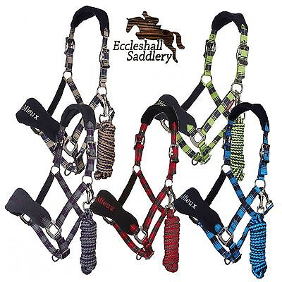 Le Mieux Signature Headcollar & Leadrope Set Head collar lead rope 2017 BNWT