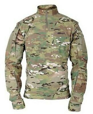 US ARMY MILITARY OCP Multicam ISAF Tactical Combat TAC U Shirt Hemd Large Long