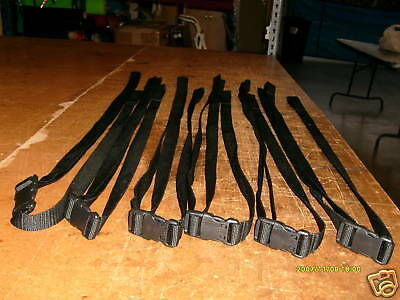 """Straps for tie down,1"""" webbing with ykk buckles,adjustable straps made in U.S.A."""