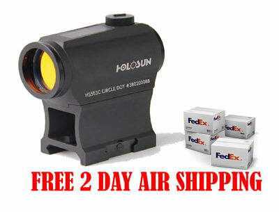 Holosun HS503C NV Compatible Micro Red Dot Sight w/ Circle  Dot Reticle