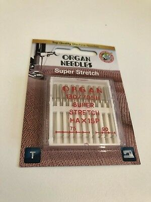 Schmetz Overlocker Sewing Needles HAX1 SP 15X1SP Size 90/14 x5 Ideal For Janome