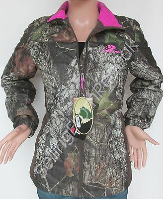 0ad4cbaf2dc00 Womens Mossy Oak Camo Hot Pink Camouflage Camp Jacket Winter Coat  Thermalite New