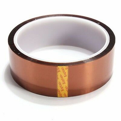 30mm x 100ft Kapton Higher Temperature Heat Resistant Polyimide Tape BGA PCB