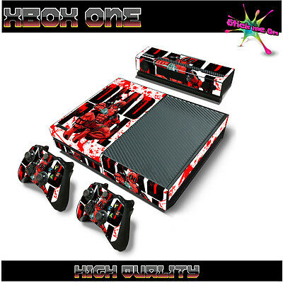 DEADPOOL COMIC | Sticker Skin Wrap Kit | For Xbox One Console 2 remotes n Kinect