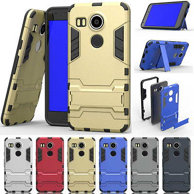 Heavy Duty Hybrid Rugged Rubber Shockproof Phone Case Cover For Google Nexus 5X