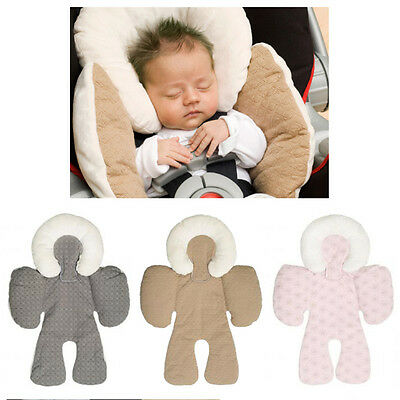 Two-sided Infant Padded Baby Pram Stroller Car Seat Head and Neck Support
