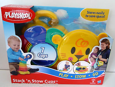 Playskool Stack 'N Stow Cups (Last 3) DISCOUNTED