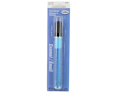 TES2508C Testors Gloss Enamel Paint Marker (Light Blue) (10ml)