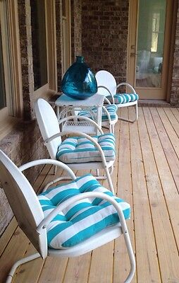 Vintage Indoor or Outdoor Chair,priced Each, Four Available, Paint Any Color