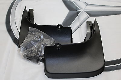 Genuine Mercedes-Benz W246 B-Class Rear Black Mud Flaps A2468900178 NEW