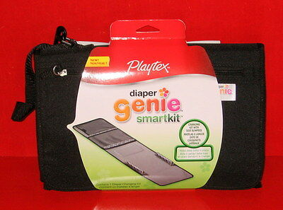 Playtex Diaper Genie On-The -Go Diaper Changing Kit Smart Kit ~ Free Shipping
