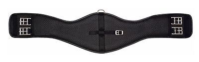 Horse Girth Equi Prene dressage Pressure eze Girth BLACK show easy care 60cm 24""