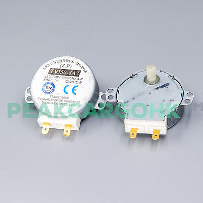 2 Microwave Oven Turntable Synchronous Motor TYJ50-8A7 TYJ508A7 Panasonic Galanz