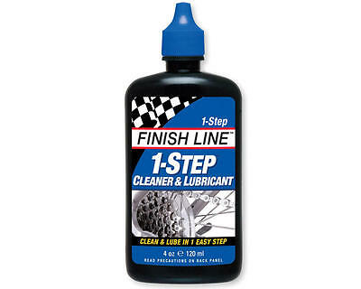 M00040101 Finish Line 1-Step Cleaner & Lubricant Squeeze Bottle (4oz)