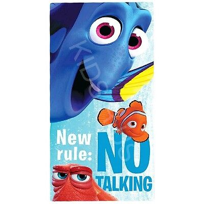 Finding Dory Kids Bath / Beach / Pool Towel New Official Finding Nemo