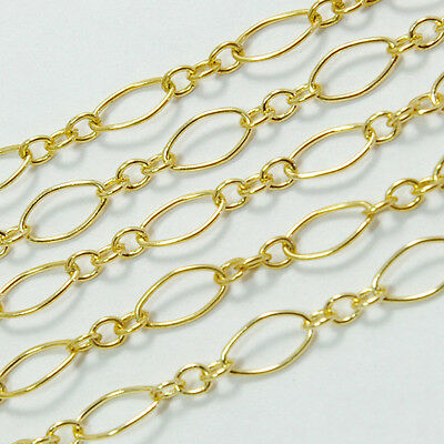 14K Gold Filled Medium Size Bulk Chain With 3.5mmx7.5mm link