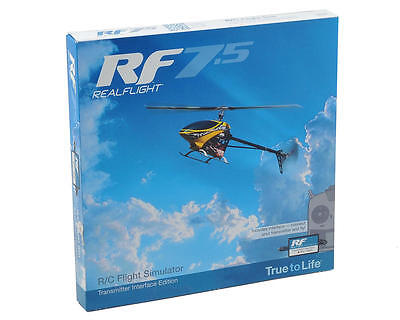 GPMZ4525 Great Planes RealFlight 7.5 w/Wired Transmitter Interface