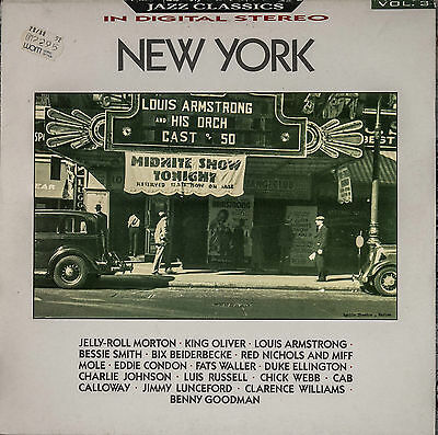 LP Vynil Jazz Classics Vol 3 NEW YORK  REB 590 BBC Records and Tapes 13447