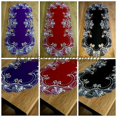 Table Runner Embroidered Table Cloth Table Home Decorations