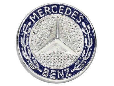 Genuine Mercedes-Benz Blue Star Logo Lapel Pin Badge B66043064 NEW