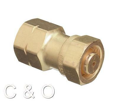 WESTERN # 317 ACETYLENE ADAPTOR CGA-520 TO CGA-510 B TANK to POL REGULATOR
