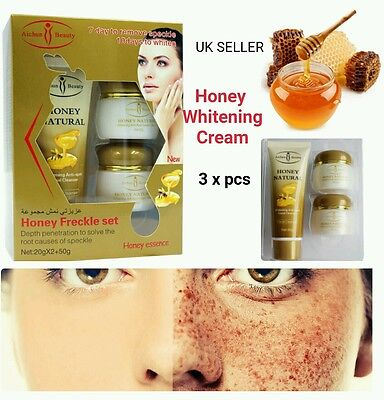 Skin Whitening Cream Freckle Melasma Lightening Day & Night Cream With Cleanser