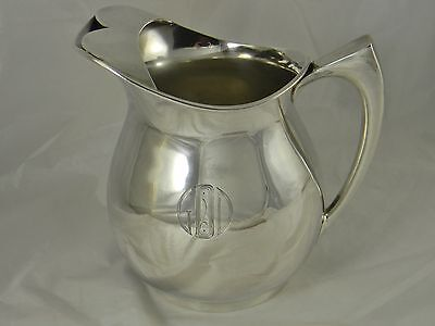 Great Arts & Crafts Era Silver Plate Water Pitcher Pairpoint
