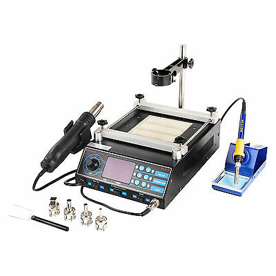 Soldering Iron And Hot Air Gun Station Rework - 1270 W Solder Smd Professional
