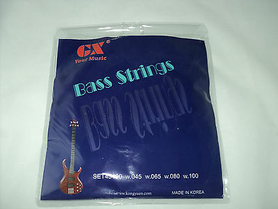Quality Bass Guitar Strings (Electric Bass Guitar)
