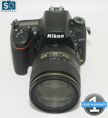 Nikon D750 DSLR Camera with Nikon AF-S NIKKOR 24-120mm f/4G EDVR Zoom Lens Kit**