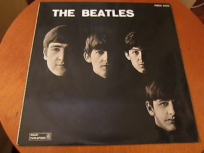 THE BEATLES FIRST LP PMCQ 31502 Italy 1963 RED LABEL Great Cover