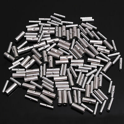 150 Non Insulated BUTT Connector Uninsulated #22-18,16-14 /& 12-10 MADE IN USA