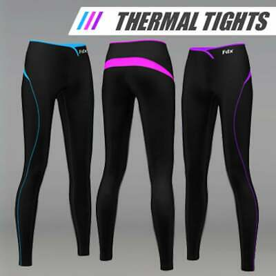 FDX Womens SuperThermal Base Layer Compression Tights Fitness Pants  Running Gym