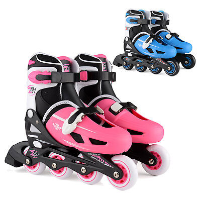 Loch Children's Size Adjustable Inline Skates Boys Girls Skating Roller Blades